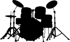 ドラムの左利き用のセッティング
