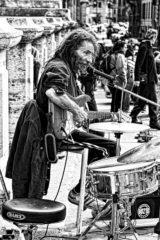 ブルースのドラム